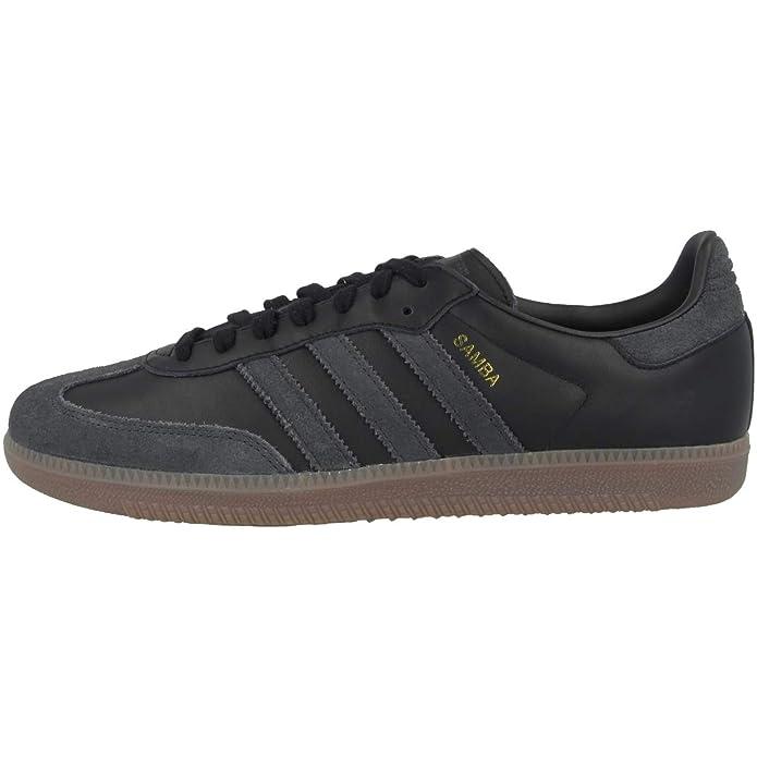 adidas Samba oG Schuhe Herren schwarz mit schwarzen Streifen