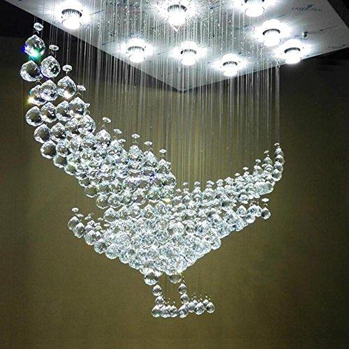 OOFAY LIGHT® Kristall Kronleuchter Adler Exterior Wohnzimmer Deckenleuchte  Modern Minimalist Kreativ Villa Lobby Hotel Technik Lampe: Amazon.de: Sport  U0026 ...
