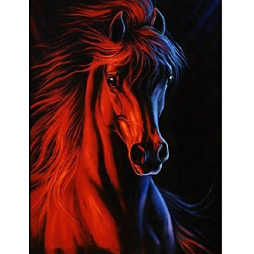 Fineser 5D DIY Animals Diamond Embroidery Painting By Number