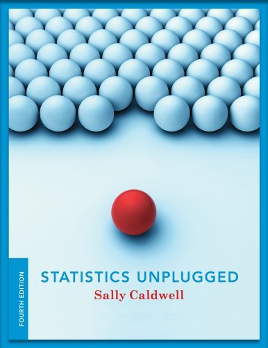 By Sally Caldwell - Statistics Unplugged (4th Revised edition) (8.3.2012)