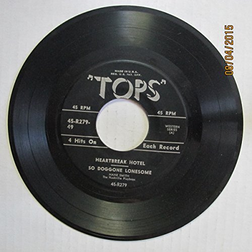 Heartbreak Hotel; So Doggone Lonesome / Blue Suede Shoes; Yes, I Know Why - Heartbreak Hotel Top