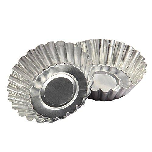 Cake Aluminium Alloy Tart Mould Baking Tool Aluminum Foil Pans
