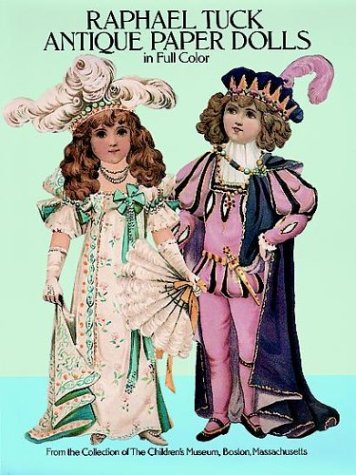 Raphael Tuck Antique Paper Dolls in Full Color