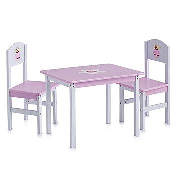 zeller 13442 set tavolo (60x48x45 cm) e sedie (28x26x54 cm) per ... - Set Tavolo E Sedie Cucina