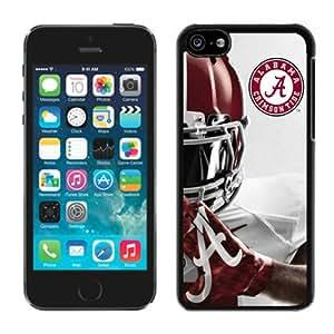 100% brand new Southeastern Conference SEC Football Alabama Crimson Tide 6 Black iPhone 5C Case