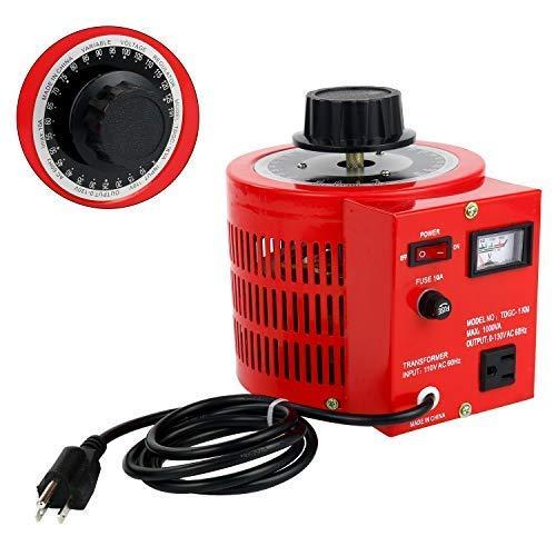 YaeCCC Voltage Transformer AC Variable Voltage Converter 10Amp ()