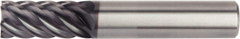 6-Flute WIDIA Hanita 4S0719007ST 4S07 HP Finishing End Mill 0.75 Shank Dia RH Cut Carbide 0.75 Cutting Dia AlTiN Coating