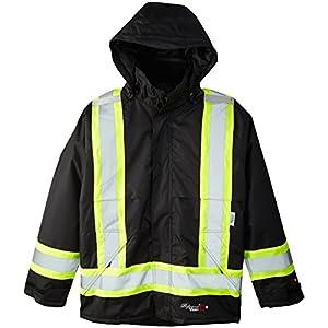 Viking Professional Insulated Journeyman FR Waterproof Flame Resistant Jacket, Black, 3XL