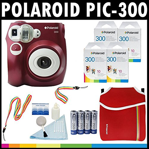 Polaroid PIC 300 Neoprene Cleaning Batteries