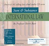 Sum and Substance Audio Set on International Law, Burr, Sheri L., 0314170804
