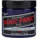Manic Panic Rockabilly Blue Semi Permanent Vegan Hair Dye.