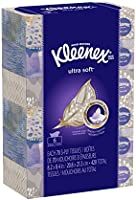 Kleenex Ultra Soft & Strong Facial Tissues, 70 Tissues per Flat Box, 6 Pack