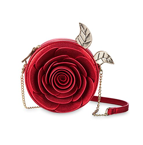 Enchanted Crossbody Disney Bag Rose the Danielle Nicole Beauty Beast Red and CqYBfw