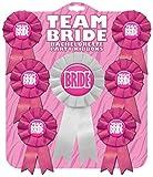 Kalan LP Team Bride Bachelorette Party Ribbons, Set of 7