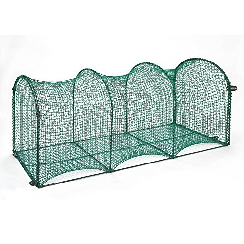 Deck & Patio Outdoor Cat Enclosure - 72x18x24,Green by Kittywalk