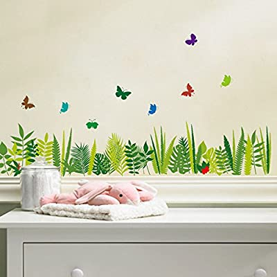 BIBITIME Skirting Line Series Removable Waterproof Wall Sticker