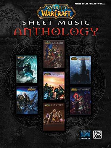- World of Warcraft Sheet Music Anthology: Piano Solos & Piano/Vocal