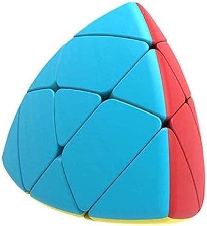 ARTLABEL Qiyi Pyramid Rubiks Cube Master Pyramorphix High Speed Stickerless Magic Cube Multicolor