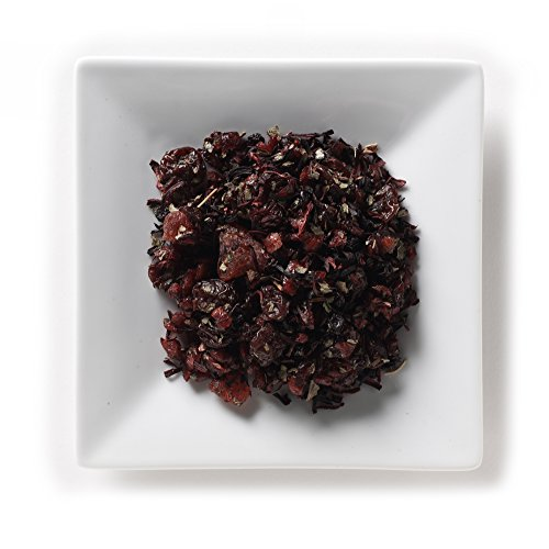 Mahamosa Berry Bunch Tea 2 oz, Herbal Fruit Tea Blend Loose Leaf (with cranberry, hibiscus, blueberry, cherry, strawberry, black currant, raspberry and strawberry flavors)