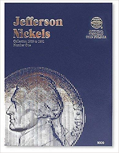 [0307090094] [9780307090096] Jefferson Nickels Folder 1938-1961 (Official Whitman Coin Folder) – Hardcover
