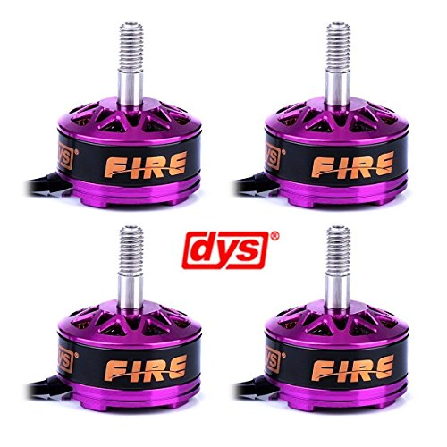 Crazepony 4pcs DYS Fire 2206 2600KV Brushless Motor 2CW 2CCW for QAV250 RX210 X210 QAV300 FPV Racing Quadcopter