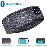 Sleep Headphones Bluetooth Headband,Upgrage Soft Sleeping Wireless Music Sport Headbands, Long Time Play Sleeping…
