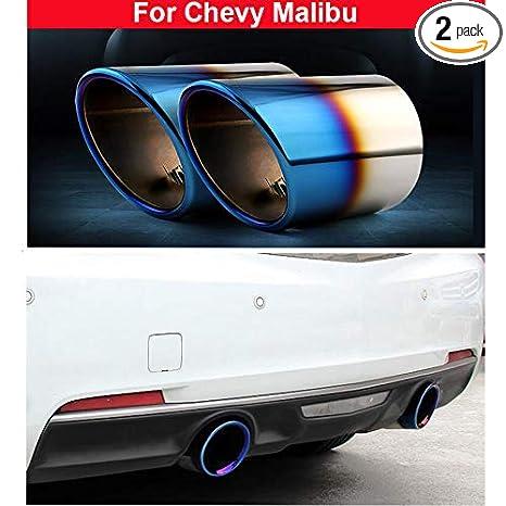 Amazon.com: 2 x azul Silenciador de escape Tubo de escape ...