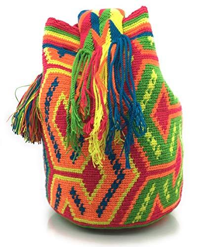 avec à Wayuu la à à fois Sac pour main dos des les tribaux Altamir femmes motifs COLOMBIAN et sacs les hommes colombiens STYLE c4fgfWA