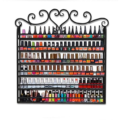 Dazone® Wall Mount 6 Tiers Nail Polish Rack Organizer, used for sale  Delivered anywhere in USA