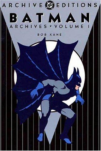 Batman Archives, Vol. 1, Comics, DC