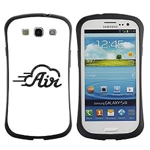 Fuerte Suave TPU GEL Caso Carcasa de Protección Funda para Samsung Galaxy S3 I9300 / Business Style Avi file ?