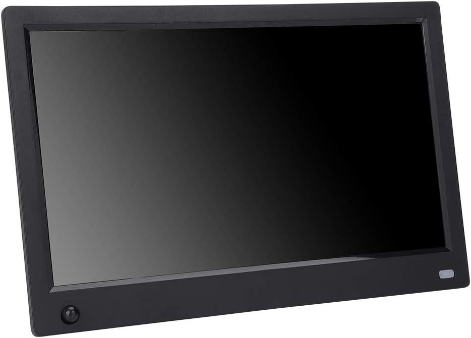 US-Black Neufday 11.6 Inch HD Multi-Function Digital Photo Frame Human Body Model