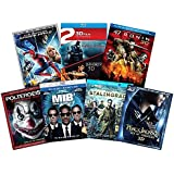 Ultimate Action & Adventure 8-Movie Blu-ray 3d Collection: Amazing Spider-Man 3 / Men in Black 3 / Percy Jackson: Sea of Monsters / 47 Ronin / Poltergeist / Stalingrad / Immortals / Abraham Lincoln Va