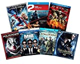 Ultimate Action & Adventure 8-Movie Blu-ray 3d Collection: Amazing Spider-Man 3 / Men in Black 3 / Percy Jackson: Sea of Monsters / 47 Ronin / Poltergeist / Stalingrad / Immortals / Abraham Lincoln Va -  Varius, Varius