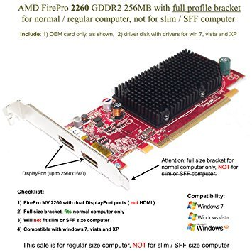 (AMD FirePro MV 2260 Graphics Card (PCI-E x 16, full size bracket) - Epic IT Service )