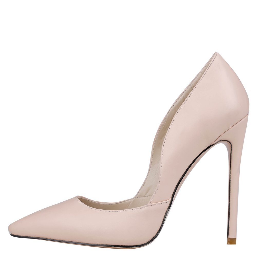 EKS - Zapatos de Tacón Mujer 40 UE - Nackt-Matt