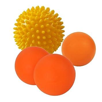 Juego de Pelota de lacrosse para masaje por Yayi – 2 bolas de ...