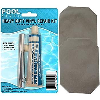 Intex recreation 59632ep swimming pool vinyl for Reparation liner intex