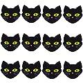6 Pairs Black Cat NippleCovers Satin Pasties Disposable Self Adhesive Breast Petals