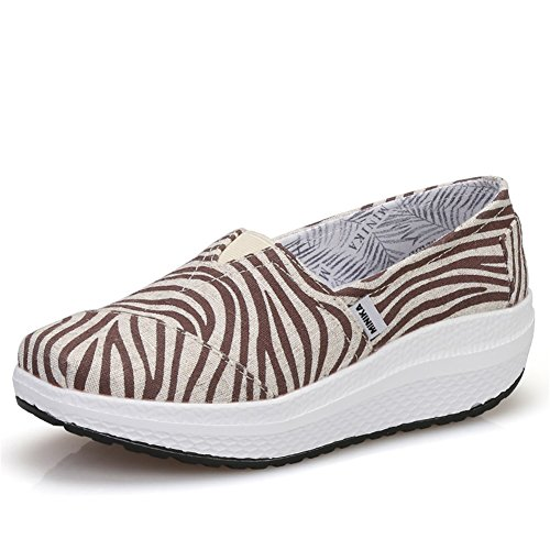 amp; Chaussures Chaussures Fitness Slip Casual Femmes Chaussures Chaussures Sneakers Printemps Secouant Mocassins Automne Conduite Mocassins Voyage B at Chaussures Maille Ons Shake Shake plats Chaussures dXndqwCY7