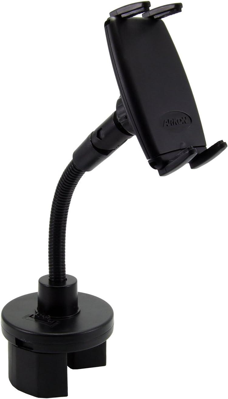 Black Arkon Slim-Grip Bicycle and Motorcycle Mount for Smartphone Bulk Packaging