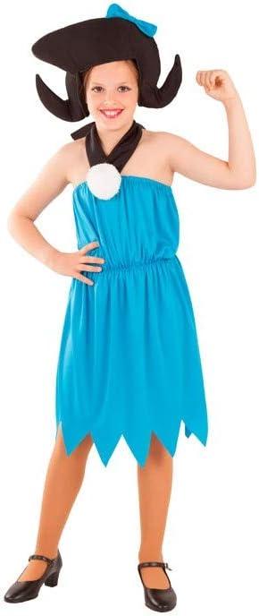 DISBACANAL Disfraz de troglodita Betty Infantil - -, 10 años ...