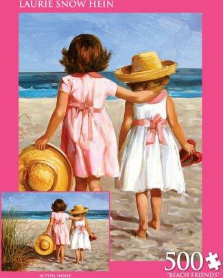 Laurie Snow Hein beach friends - Snow Laurie