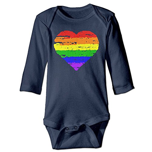 LGBT Pride Autumn Long Sleeve Newborn Baby Boys Girls Toddler Climb Jumpsuit | Crawling Clothes