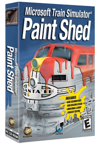 Paint Shed: Microsoft Train Simulator Add-On - PC