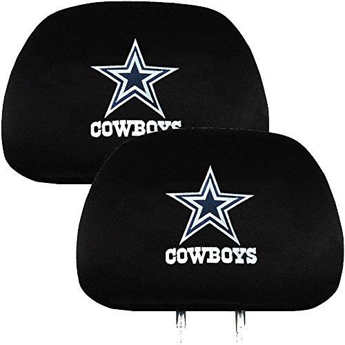Official National Football League Fan Shop Authentic NFL Headrest Cover (Dallas (Cowboys Headrest Covers)