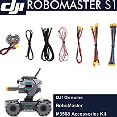 RoboMaster S1 Intelligent Educational Robot STEM Programmable Modules Gamepad Gel Beads Repair Parts Supplement Accessories Compatible with DJI Robomaster S1 Key Features Learn Programming Concepts Supports Scratch 3.0 & Python Expand Rob...