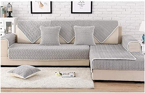 dsaqao vier jahreszeiten universal sofabezug anti rutsch wohnzimmer sofa dampfung plusch kopfkissenbezug volle sofaabdeckung 1 2 3 4 sitzer zur