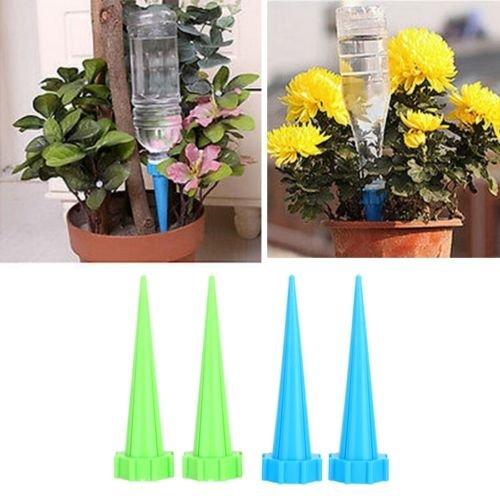 4PCS Watering Cone Spike Plant Flower Waterer Bottle - 3