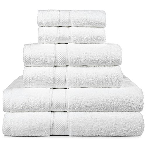 100% Cotton Super Absorbent Bath Towel Set - 5